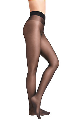 Wolford Satin Touch 20 Comfort Tights With New Waistband Black Size XL  B23 • 18.50£