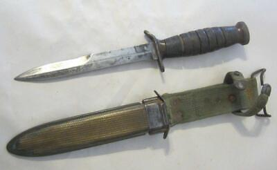 $249.99 • Buy WW-2 M3 Imperial Fighting Knife Tang Marked.   W/M8 B. M. Co. Scabbard