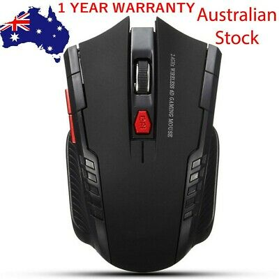 AU9.98 • Buy Wireless Optical Mouse 2.4GHz Gamer Mice USB Receiver Mouse PC Gaming Laptop
