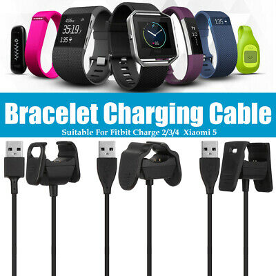 $ CDN5.20 • Buy Fitbit Charge 2/3/4 Smart Accessories USB Charging Cable Xiaomi 5 Clip Charger