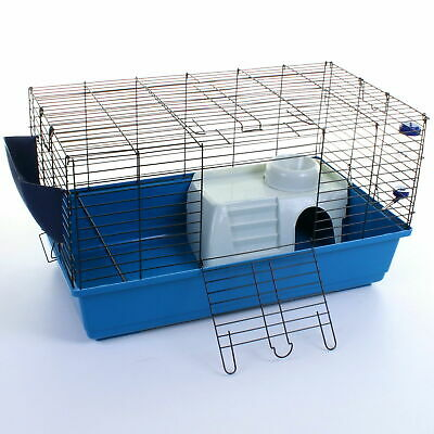 £49.99 • Buy 80cm Rabbit Guinea Pig Pet Hamster Cage Hutch House Indoor Run Incl Accessories