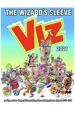 VIZ ANNUAL 2021 The Wizard's Sleeve HARDCOVER *BRAND NEW* FAST&FREE • 11.99£