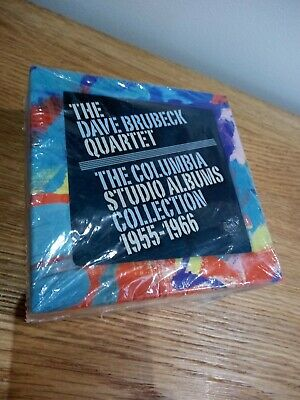 The Dave Brubeck Quartet The Columbia Studio Albums Collection 1955-1966 Box Set • 52.49£