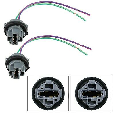 $10 • Buy Universal Pigtail Wire Female Socket 7440 Two Harness Front Turn Signal Light