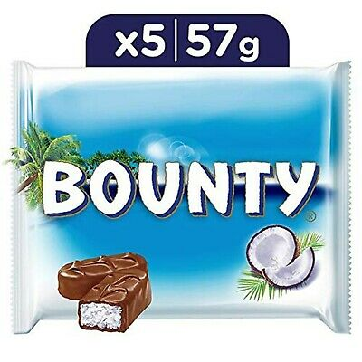 Bounty Milk Chocolate Bars Pouch 285 G A Gift For All Occasions • 20.55£