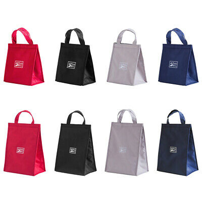 Waterproof Oxford Cloth Print Lunch Bag Thermal Insulated Bento Case Tote • 5.53£