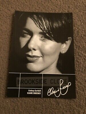 £4.50 • Buy Claire Sweeney (brookside) Presigned Cast Card