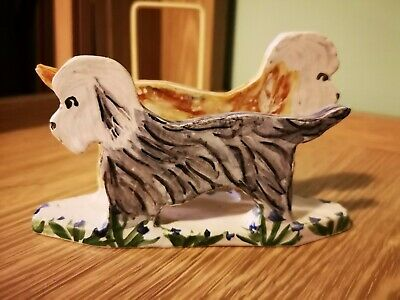 Dandie Dinmont Terrier Letter Holder By The Potting Shed - M10 • 12£