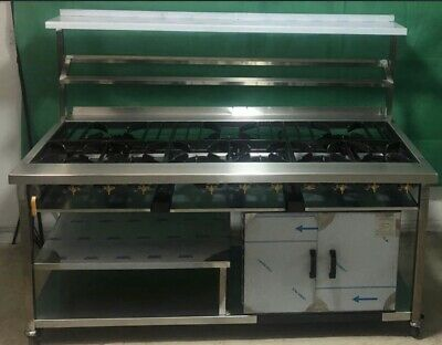 9 Burner Commercial Gas Cooker, UK Made Not Imported Cheap Quality. Top Quality • 1,450£