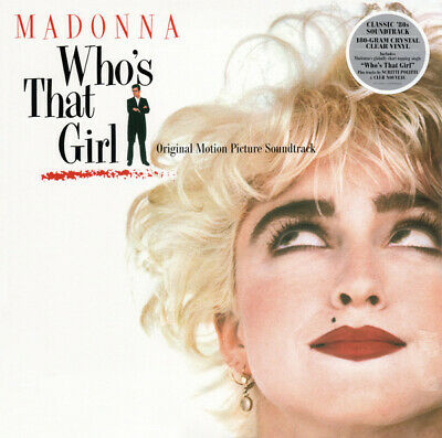 Madonna – Who's That Girl Soundtrack (CRYSTAL CLEAR 12  Vinyl Record) NEW • 11.99£