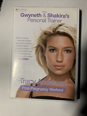 The Tracy Anderson Method - Post-Pregnancy Workout (DVD, 2010) • 2.49£