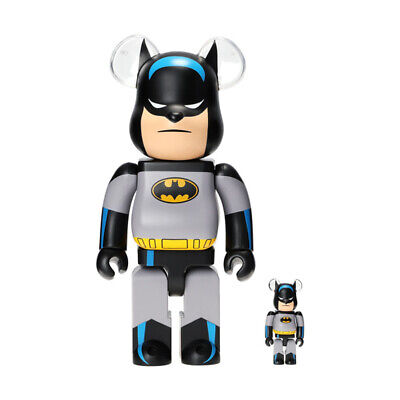 $699.99 • Buy Bearbrick Batman Animated 100% & 400%