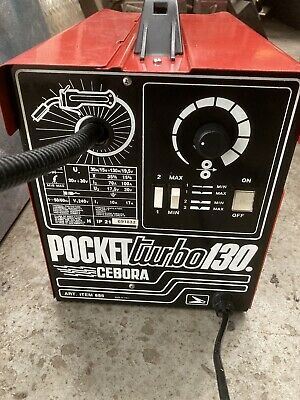 Cebora Pocket Turbo 130 • 200£