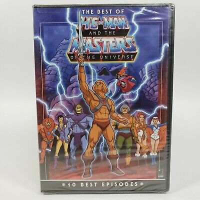 $14 • Buy The Best Of He-Man And The Masters Of The Universe - DVD Sealed
