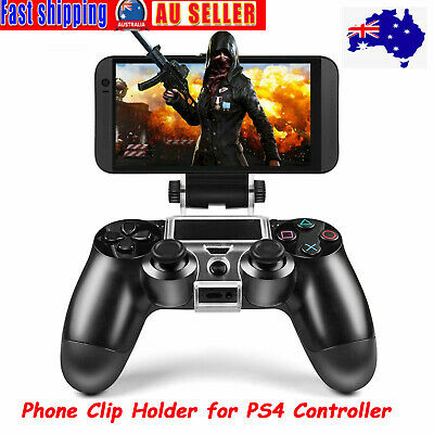 AU12.25 • Buy For PS4 Controller Phone Clip Holder Mount Bracket Stand Fit IPhone Android AU~