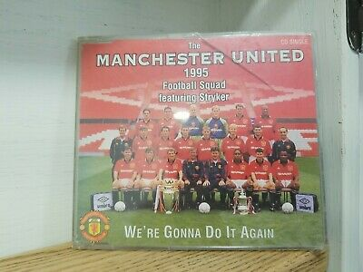 Manchester United - We're Gonna Do It Again (1995) CD Single • 2.99£
