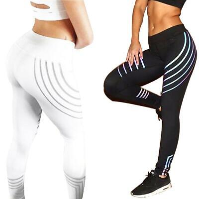 Women Yoga Sportswear Leggings Slim Fit Printing Workout Trousers Clothes • 8.15£