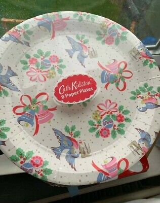 Cath Kidston Paper Plates And Paper Napkins  • 16.50£