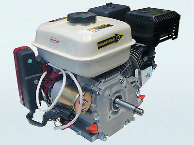 AU209 • Buy 6.5hp Electric Start Petrol Stationary Engine With 18mm Threaded Shaft