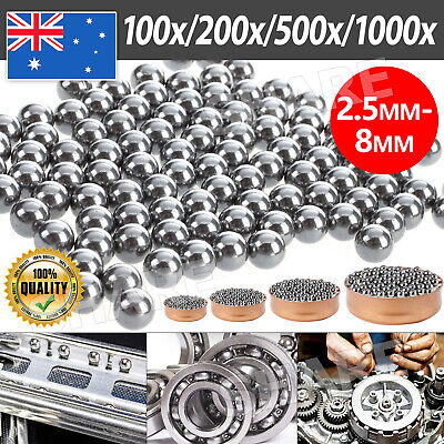 AU3.85 • Buy 2.5mm 3mm 4mm 5mm 6mm 8mm Bike Bicycle Steel Ball Bearing Replacement Parts AU