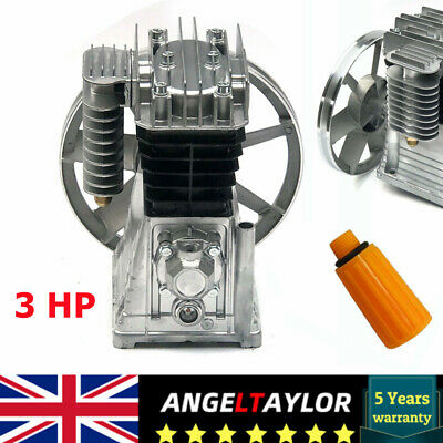 £144.80 • Buy Piston Style Cylinder Air Compressor Pump Motor Head Air Tool 3 HP FAST SHIPPING