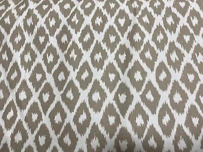 Andrew Martin Furnishing Fabric Clerici Taupe £7.50 Per Metre  RRP £50 Per Metre • 7.50£