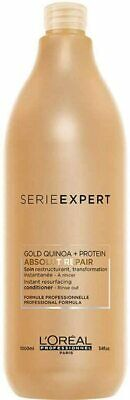 L'oreal Professional Serie Expert Gold Conditioner Absolut Repair 1000 Ml • 24.99£