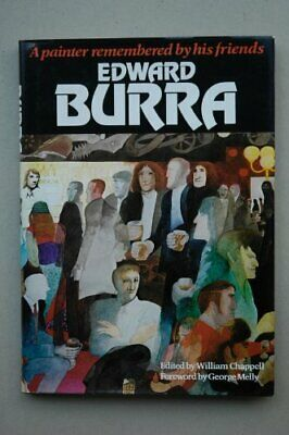 Edward Burra: A Painter Remembered By His Friends Hardback Book The Cheap Fast • 50.99£