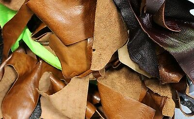 £4 • Buy 1kg Bag Of Mixed Quality Scrap Leather Arts & Crafts,Off Cuts,Remnants,Pieces