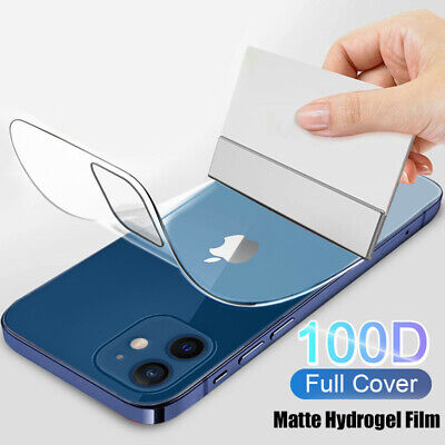 AU5.33 • Buy Soft Hydrogel Film Glass Screen Protector For IPhone 13 12 Pro Max 11 XR XS X 8+