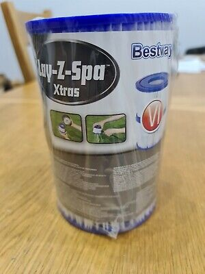 Lay Z Spa Lazy Hot Tub Spa Filter Size VI Twin Pack • 5£