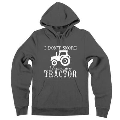 $30.99 • Buy I Don't Snore I Dream I'm Tractor Hoodie Country Farm Life Hooded Sweatshirt