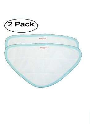 AU14.75 • Buy Unispair 2x Microfibre Triangler Cloths To Fit H20 HD H2O Lite,Steam Mop Pads
