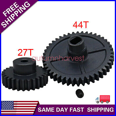 $ CDN15.47 • Buy Metal Upgrade Main Reduction Gear And Motor Pinion Gear For Wltoys 144001 RC Car