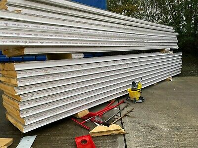 £15 • Buy Used Good Quality PIR Insulated Cold Room Panels, Various Sizes & Thicknesses