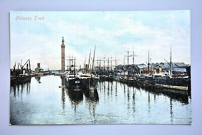 £3.99 • Buy R&L Postcard: Grimsby Dock, Various Ships Vessels, Coloured View