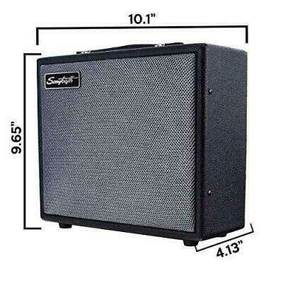 $ CDN64.68 • Buy Sawtooth Electric Guitar Portable Travel Sound Amplifier With Treble Middle Bass