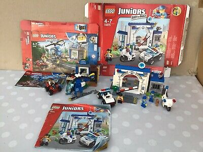 Lego Juniors Police Sets  10675 Big Escape ,10751 Police Chase • 17.99£