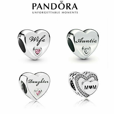 New Genuine Silver Pandora Heart Charm Ale S925 & With Gift Box • 13.89£