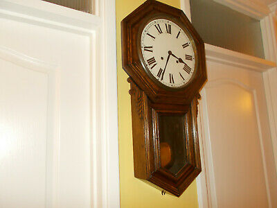 Antique Chiming Wall Clock • 75£