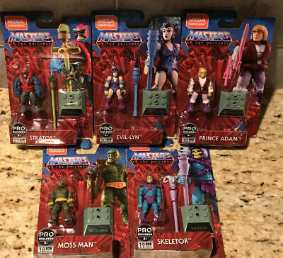 $12.94 • Buy Masters Of The Universe Mega Construx Adam Moss Man Evil Lyn Stratos Skeletor