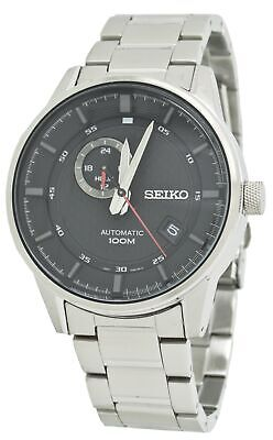 $ CDN261.88 • Buy Seiko Automatic SSA381 Black Dial Stainless Steel Men's Watch