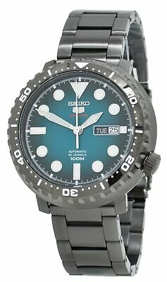 $ CDN292.49 • Buy Seiko 5 Sports Automatic  'Bottle Cap' SRPC65 Turquoise Dial Men's Watch