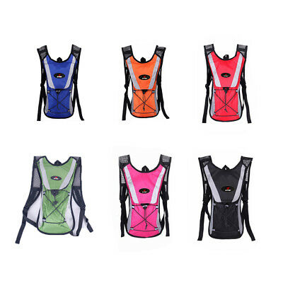 AU19.99 • Buy Hiking Camping Cycling Running Hydration Pack Backpack Bag + 2L Water Bladder
