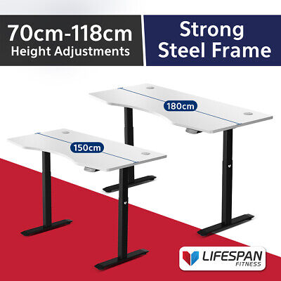 AU659 • Buy NEW Lifespan Fitness ErgoDesk AUTO Series Automatic Standing Desk 180cm