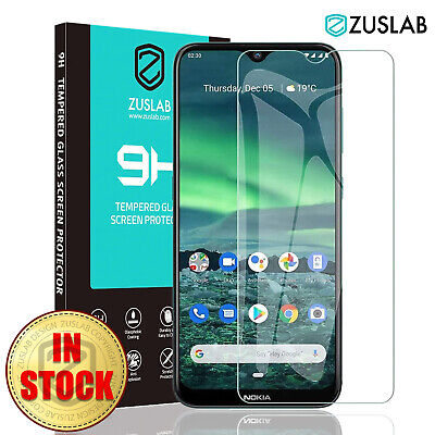 AU6.99 • Buy For Nokia 2.3 1.3 5.3 ZUSLAB 9H Full Coverage Tempered Glass Screen Protector