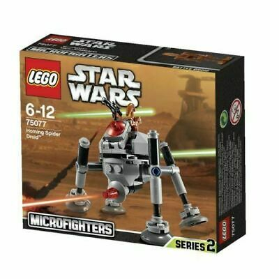 LEGO 75077 - Star Wars Homing Spider Droid Microfighters - New -Retired - Rare • 19.99£