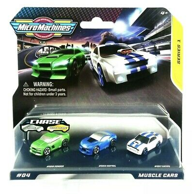 Micro Machines Muscle Cars Series 1 #4 New And Sealed Hasbro 2020 • 12.49£