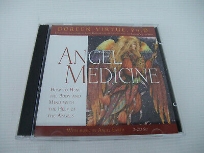 £5.50 • Buy Angel Medicine: A Healing Meditation CD With Music By Angel Earth