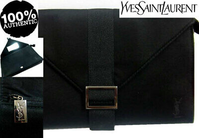 100%AUTHENTIC Ltd Edition YSL COUTURE BEAUTY MAKEUP Clutch Evening BAG & MIRROR • 68.99£